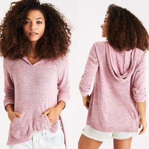 AE Chenille Hooded Sweater